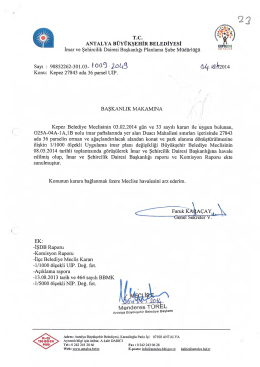 Gündemin 23.Maddesi - Antalya Belediyesi