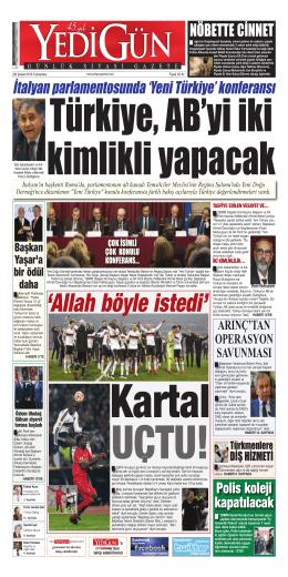`Yeni Türkiye` konferansı