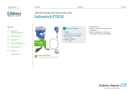 Soliswitch FTE20 (PDF 2,81 MB) - E-direct