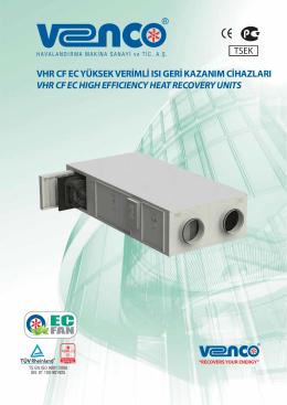 9 VHR CF Katalog ORİ - Ventilatie cu recuperare de caldura