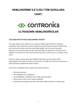Contronics Genel Katalog