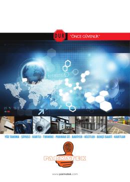parmatek katalog - Parmak izi Sistemleri