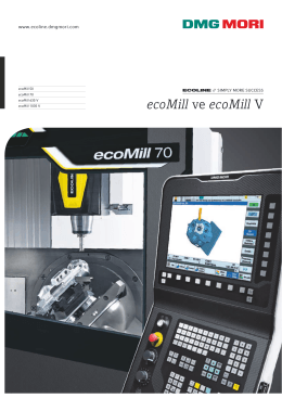 ecoMill ve ecoMill V