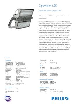 OptiVision LED BVP500 projeksiyon armatürü