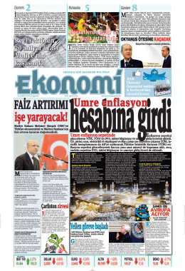 5 şubat 2014 - Ekonomi Gazetesi