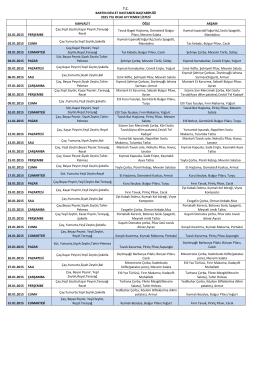 tc bartın devlet hastanesi baştabipliği 2015 yılı ocak ayı yemek listesi