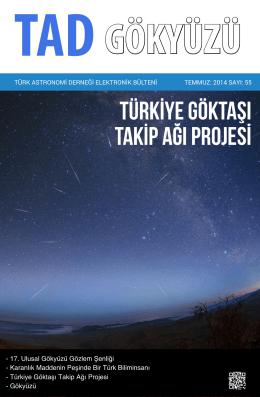 Türkİye Göktaşı TakİP Ağı Projesİ