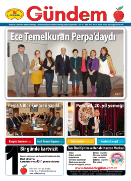 Nisan 2014 - Perpa Gazetesi