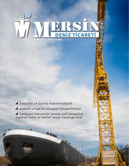 Deniz Ticareti Dergisi Temmuz 2014 Sayısı