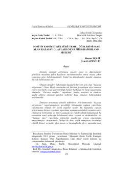 NEAR MİSS - Dokuz Eylül Üniversitesi Sağlık Bilimleri Enstitüsü