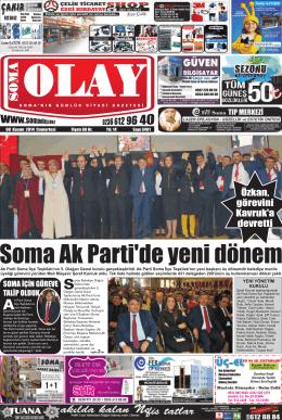 08 Kasım 2014 - Olay Gazetesi