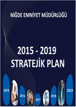 Stratejik Plan ( 2015 – 2019 ) - Niğde Sosyal Bilimler Meslek