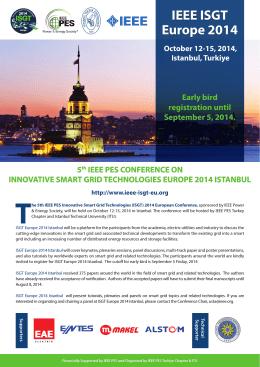 IEEE ISGT Europe 2014 IEEE ISGT Europe 2014