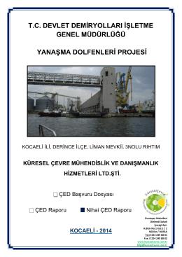 Çevresel Etki Değerlendirmesi Raporu