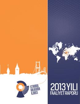 İstanbul Kalkınma Ajansı 2013 Yılı Faaliyet Raporu