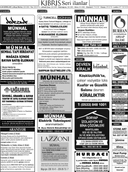 lazzonı - Kıbrıs Gazetesi