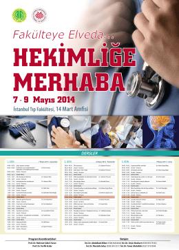 DERSLER için Tıklayınız… - İstanbul Tıp Fakültesi