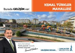 KEMAL TÜRKLER MAHALLESİ - Sancaktepe Belediyesi
