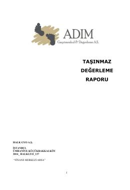 İSTANBUL FİNANS MERKEZİ ARSASI