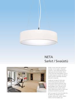 NETA Sarkıt / Sıvaüstü