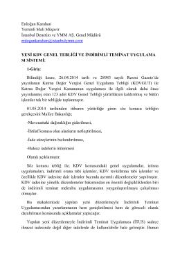 Erdoğan Karahan Yeminli Mali Müşavir İstanbul Denetim ve YMM