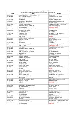 zonguldak kamu hastaneler birliği ekim 2014 yemek listesi tarih öğle