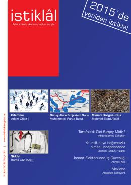 İstiklal Dergisi | ŞUBAT-2015, Sayı:34