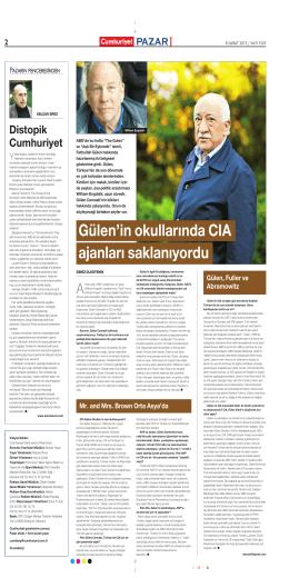Gülen`in okullarında CIA ajanları saklanıyordu 2
