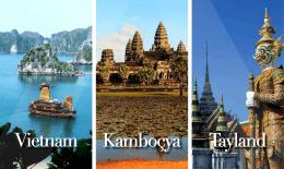 3300 USD + Vietnam ve Kamboçya vize ücretleri