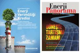 Bu yazı Enerji Panorama dergisinin Mart 2015 sayısı için
