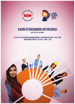 istka/2015/kdn - İstanbul Kalkınma Ajansı