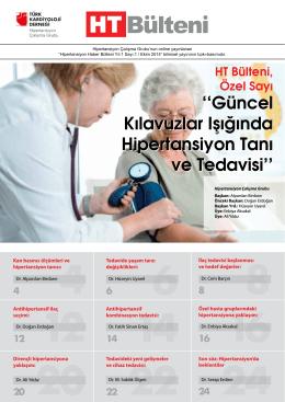 HT Bülteni - Türk Kardiyoloji Derneği