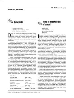 PDF - Şahika (Citadel) - Türkiye Aile Hekimliği Dergisi