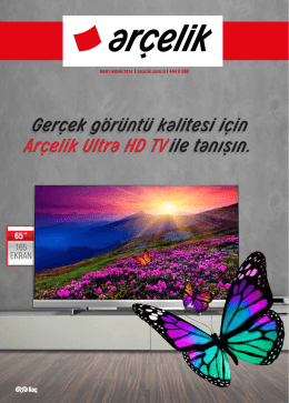 MART-NİSAN 2014 | arcelik.com.tr | 444 0 888