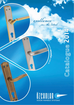 OZCANLAR 2014 CATALOGUE