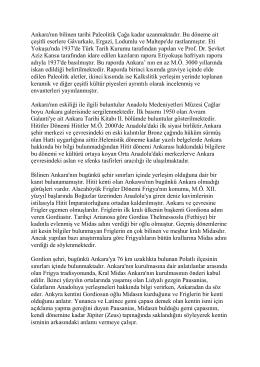 OKU - Ankara Ticaret Borsası