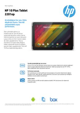 PSG Consumer 2C14 Tablet Datasheet