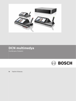 Configuration Note - Bosch Security Systems