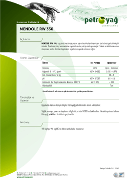 MENDOLE RW 330