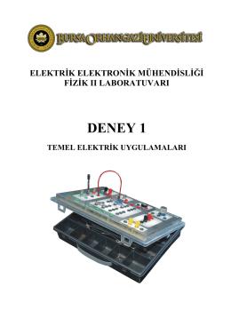 DENEY 1