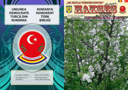 Constanţa - România str. Crişana, nr. 44 cod 900573 tel./fax: 0241