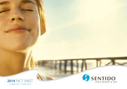 2014 FACT SHEET - Sentido Lykia resort logo