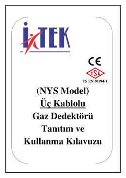(NYS Model) Üç Kablolu Gaz Dedektörü Tanıtım ve