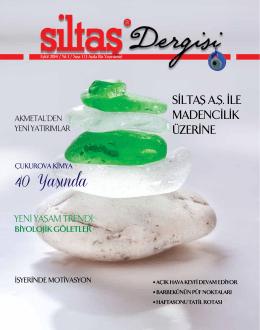 Siltaş Dergi - siltas.com.tr