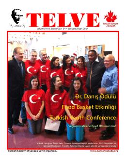 Dr. Danış Ödülü Food Basket Etkinliği Turkish Youth Conference
