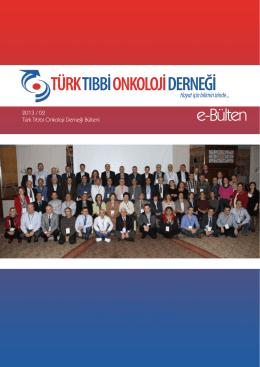2013/2 - Tıbbi Onkoloji Derneği