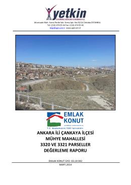 Ankara Yenimahalle, Etimesgut ve Çankaya