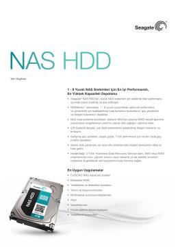 NAS HDD Veri Dosyası