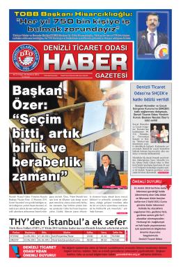 Gazete 26 - Denizli Ticaret Odası