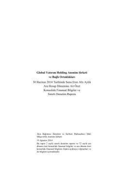 İndir - Global Yatırım Holding